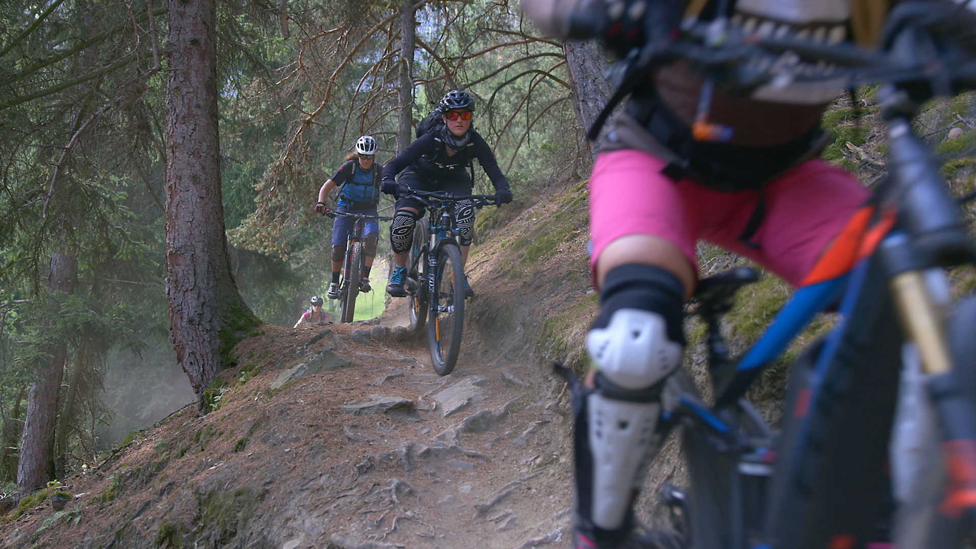 "The event documentary of the ""Mountainbike Women's Camp"" produced for ""Motor Presse Sport"""