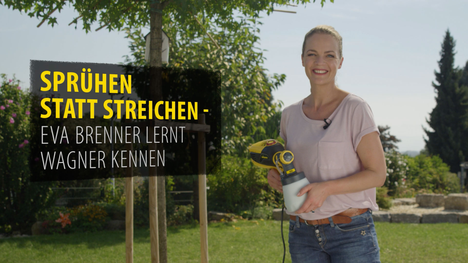 Behind the Scenes Clips for the commercial of the new FLEXiO of the manufacturer J. Wagner GmbH.