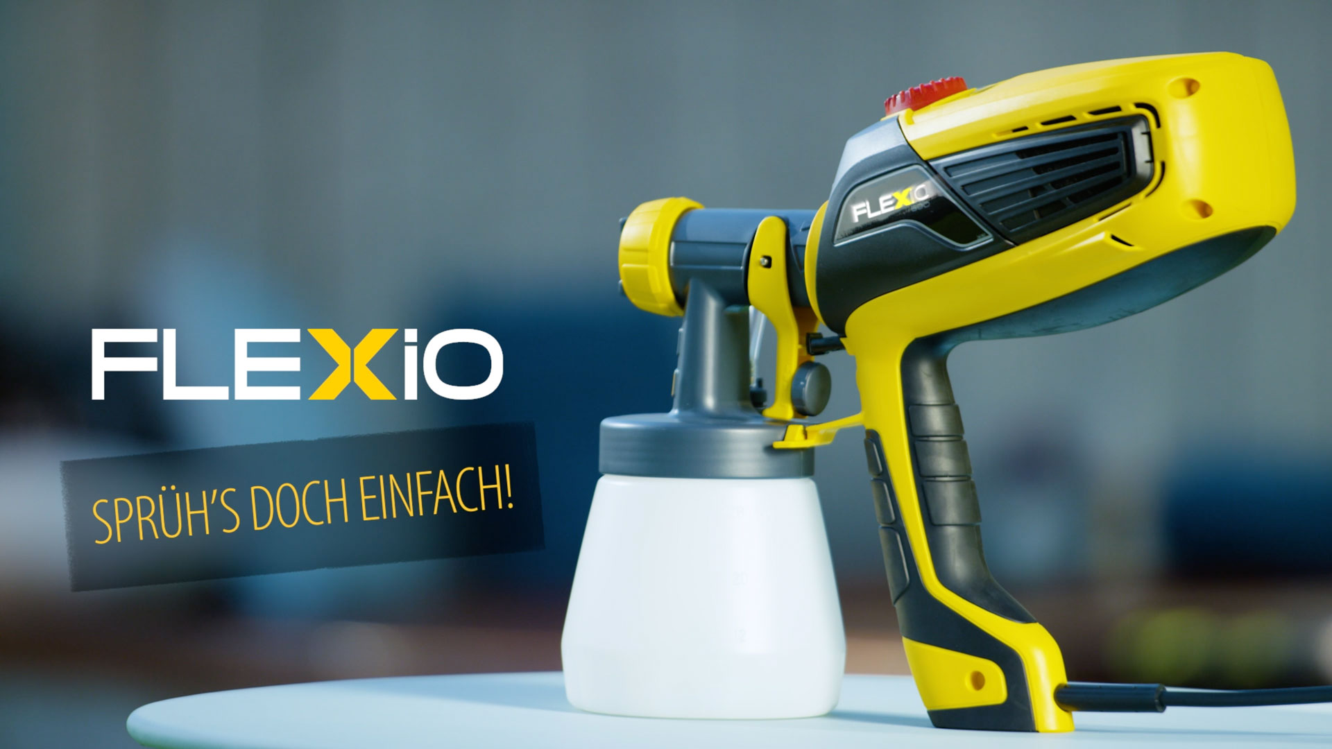 Commercials for the new FLEXiO of the Berlin based manufacturer J. Wagner GmbH.
