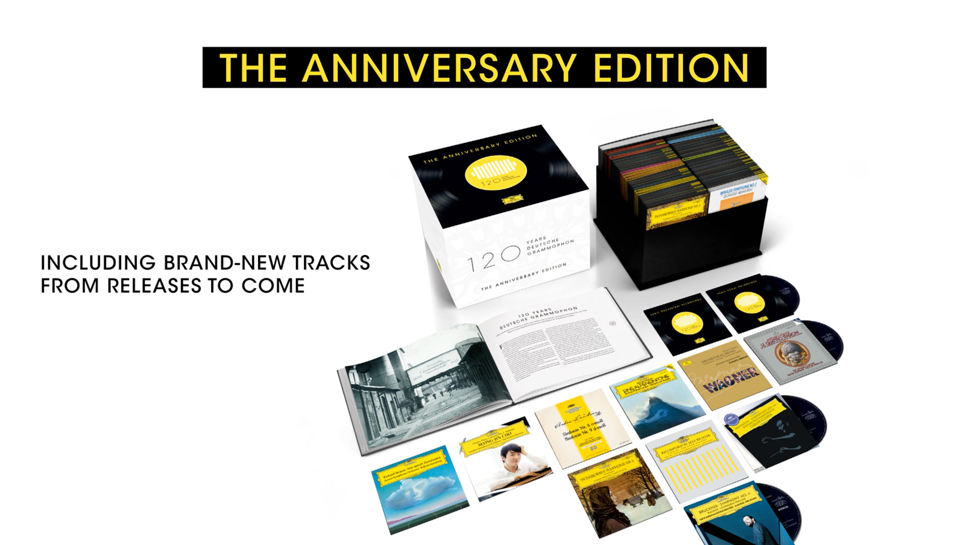 Deutsche Grammophon published a special edition in honor of their 120. anniversary.