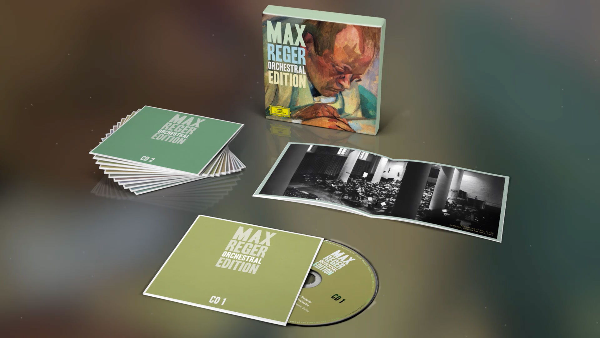 Deutsche Grammophon published a special edition of the German composer Max Reger.
