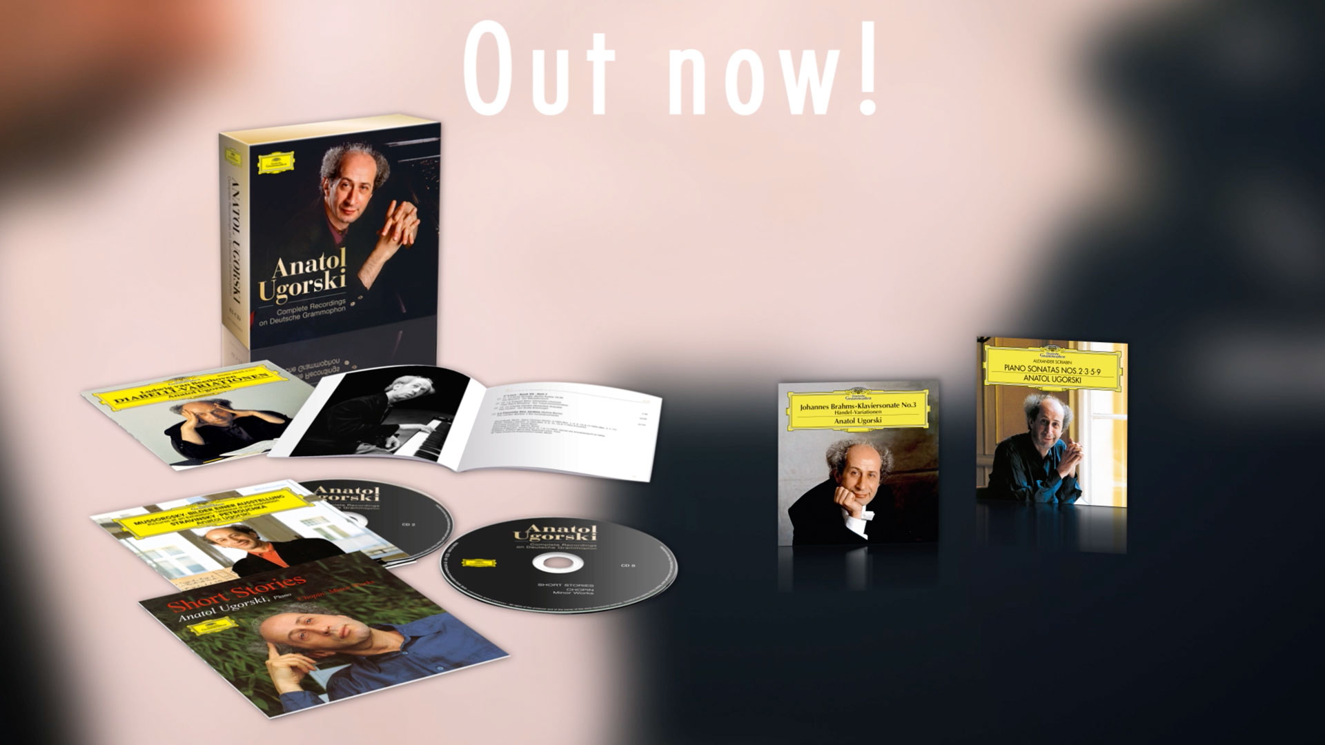 Deutsche Grammophon published a special editoin of the russian piansist Anatol Ugorski. The Founders produced a product film with animation for the release.
